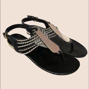 Aldo T-Strap Flat Sandal